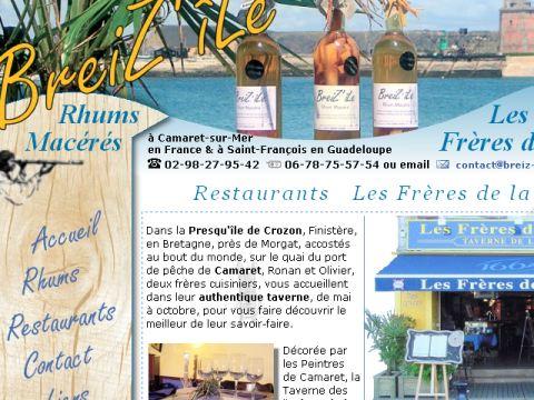 Restaurant les fr res de la c te presqu 39 ile de crozon - Les freres de la cote ...